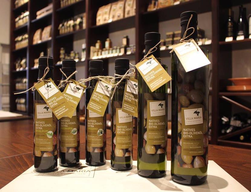 Natives Bio-Olivenöl Extra aus hauseigener Produktion