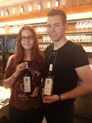 Die Junior-Chefleute Viktoria und Benjamin Döller