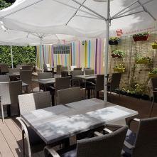 Zweieck Gastgarten