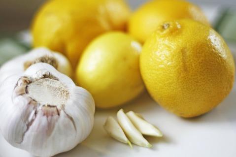 Zitronen-Knoblauchrezept von Frau Monika Jung