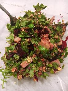 Rucola Salat-gut und schnell